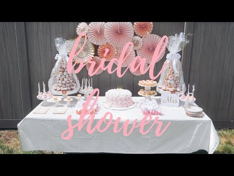 THE SWEETEST BRIDAL SHOWER