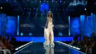 Miss Universe 2009 Presentation Show - AUSTRALIA (Rachael Finch)