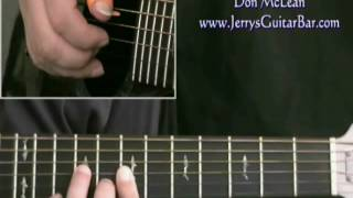 How To Play Don McLean Tapestry (intro only)