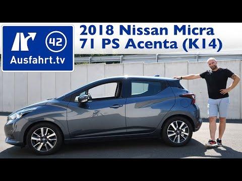 2018 Nissan Micra Acenta 71 PS 5MT (K14) - Kaufberatung, Test, Review