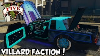 GTA V - Tunando o Villard Faction! DLC LowRiders