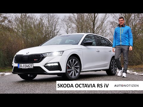 2021 Skoda Octavia RS iV Combi (245 PS): Plug-in Hybrid im Review, Test, Fahrbericht