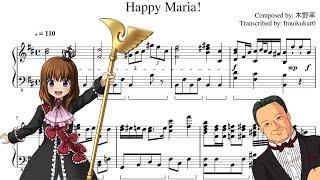 Happy Maria! - Umineko no Naku Koro ni [Piano Transcription]