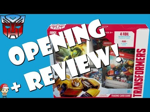 Transformers TCG Autobots Starter Set Opening and Review! Should you buy it?