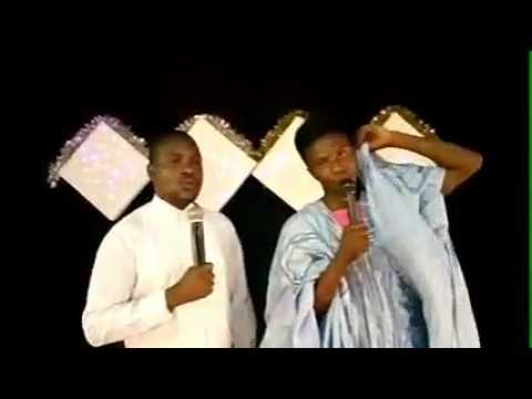 Pastor and hausa Christian testifier(gospel comedy