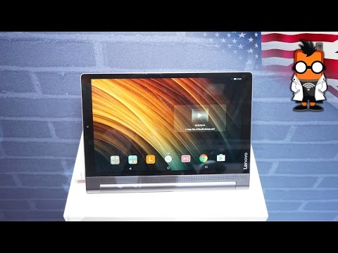 Lenovo Yoga Tab 3 Plus - tablet with 18 hours battery life