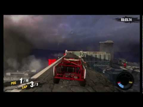 MotorStorm Apocalypse Rookie Playthrough Part 4 - DESTRUCTION EVERYWHERE!!!!!