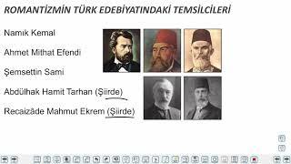 Eğitim Vadisi AYT Edebiyat 2.Föy Batı Edebiyatı ve Edebi Akımlar 1 Konu Anlatım Videoları