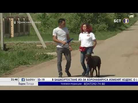 В Уфе супруги-волонтёры помогают находящимся на карантине