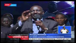 Deputy President William Ruto sends goodwill message to Kenyans