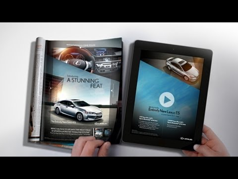 Using An iPad To Animate A Print Ad Is A Waste Of Time