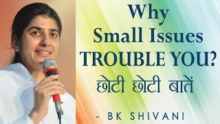 Why Small Issues TROUBLE YOU?: Ep 83 Soul Reflections: BK Shivani (Hindi)