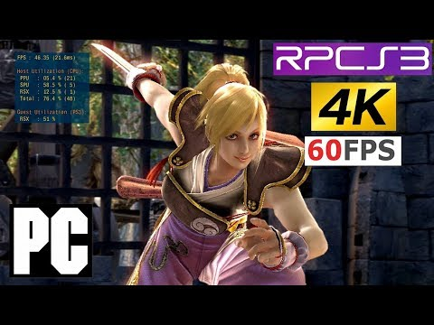 RPCS3 Soulcalibur IV 4K settings Vuklan - смотреть онлайн на Hah Life