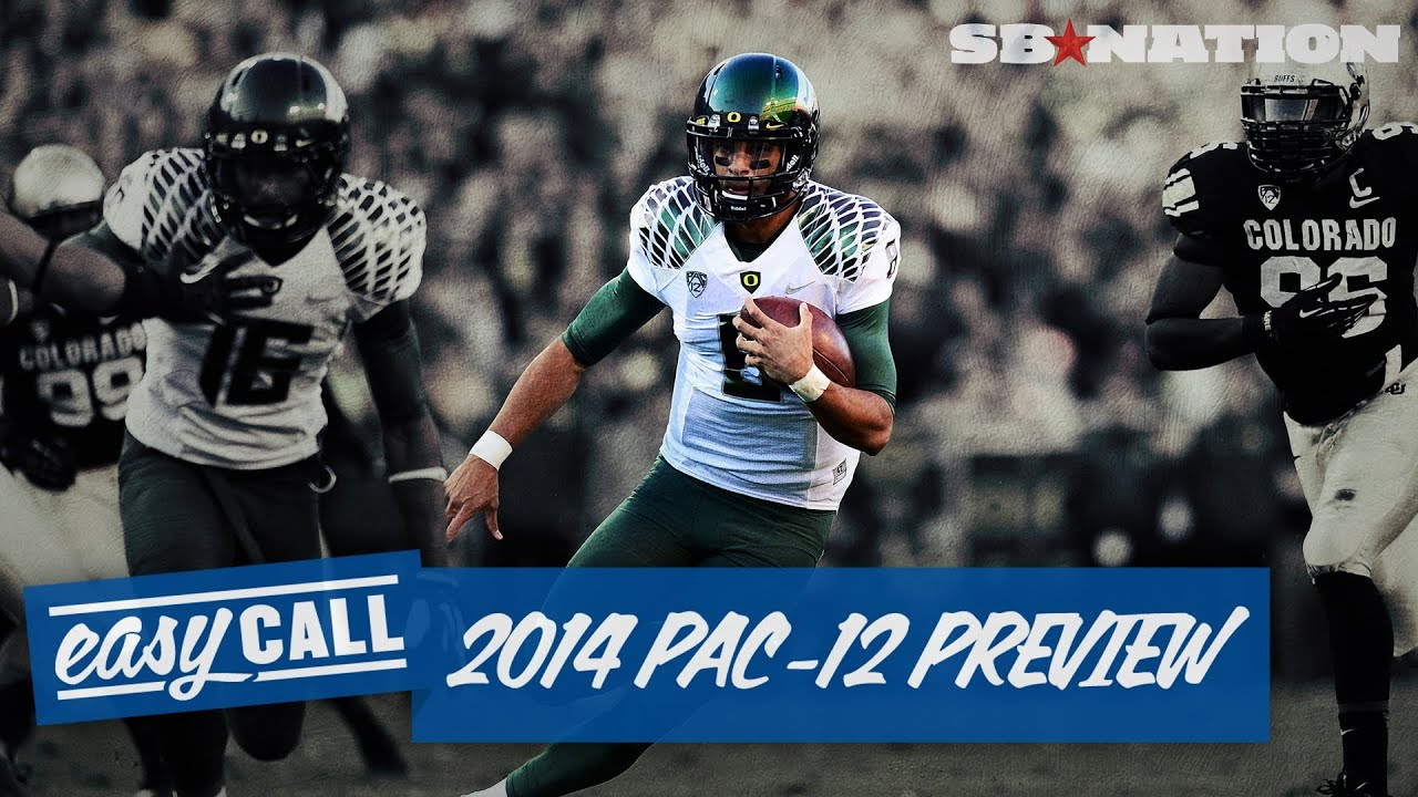 Easy Call: 2014 Pac-12 football preview (with drinking andsandwiches!) thumbnail