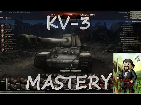 World of Tanks - KV-3 Ace Tanker Mastery Badge Game