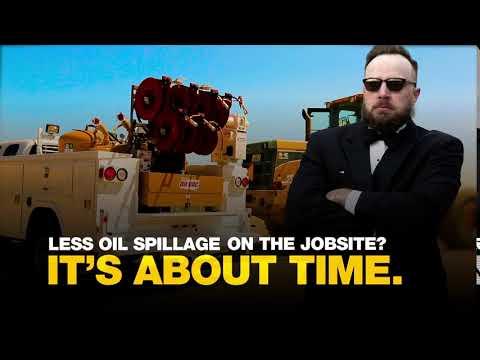 Less Oil Spillage