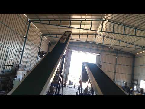 Double Stage Truck Loading Conveyor