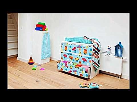 Kinderzimmer einrichten -- Kommode von Ikea kreativ verschönern