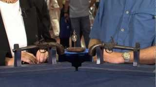 Queen Ann-Style Continental Flintlock Pistols | Web Appraisal | Corpus Christi