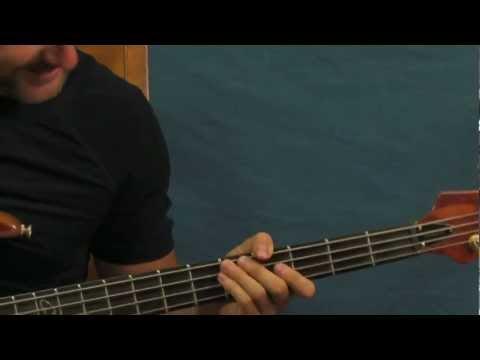 online bass guitar lesson mudshovel staind stained