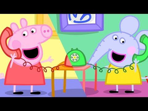 Peppa Pig Full Episodes Edmond Elephant S Birthday Cartoons For