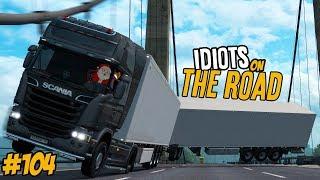 Euro Truck Simulator 2 Multiplayer Funny Moments & Crash Compilation #104
