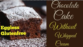 Eggless Glutenfree Chocolate Cake Recipe/No Egg Gluten Free Cake/Gluten Free Recipes
