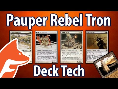 Pauper Rebel Tron Deck Tech - A Guide for Magic: The Gathering