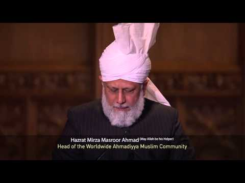 The Conference of World Religions in London UK - Keynote Address by World Muslim Leader