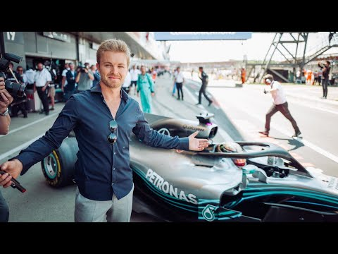 DID FERRARI HIT LEWIS AND MERCEDES ON PURPOSE? (SILVERSTONE F1 GP) | NICO ROSBERG | RACEVLOG