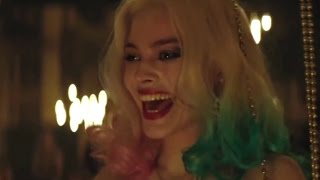 Suicide Squad movie scene - Harley Quinn falls for Joker