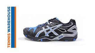 Asics Gel Resolution 5 Men's Tennis Shoes video