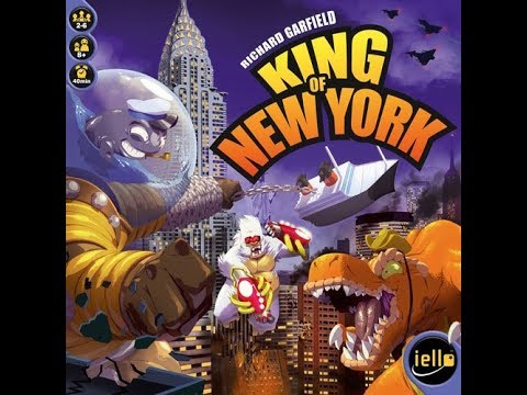 The Purge: # 1533 King of New York: King of Tokyo with a little bit more and Monsters fighting all over the place!