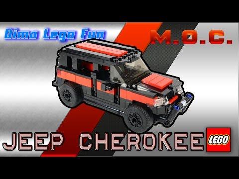 Jeep Cherokee #71 Lego MOC Instruction - Джип Чироки Лего самоделка Инструкция