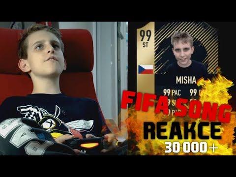 MISHŮV FIFA SONG - REAKCE! [30 000 SUBS SPECIÁL]