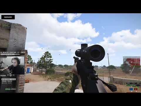 Экшен с Т-5000 • Моменты со стрима Arma 3 King of the hill (видео)