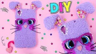 DIY Bunny Phone Case Homemade 🐰 By Isas World