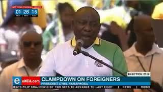 President Cyril Ramaphosa encouraged xenophobia