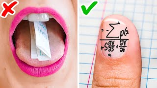 BACK TO SCHOOL HACKS THAT WILL SAVE YOUR LIFE || Funny School Supply DIYs And School Tricks!
