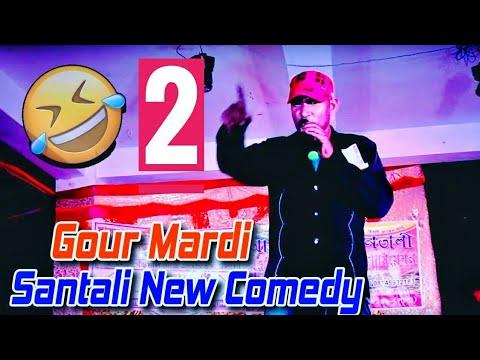 New Santali Comedy Video   Gour Marandi, Lata Pata Dada