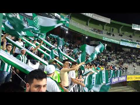 """Eu te sigo a toda parte"" Barra: Curva 1909 • Club: Coritiba"