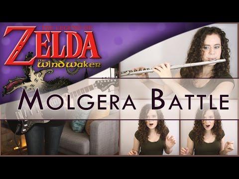 Versión del tema de la Batalla con Molgera