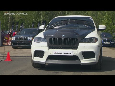 bmw e71 x6 m takes on jeep grand cherokee srt 8 autoevolution. Black Bedroom Furniture Sets. Home Design Ideas