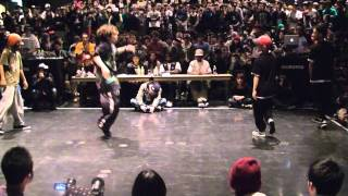 JUSTE DEBOUT 2013 JAPAN -- HIPHOP FINAL