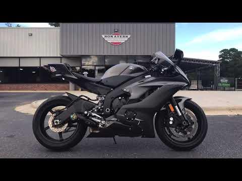 2018 Yamaha YZF-R6 in Greenville, North Carolina - Video 1