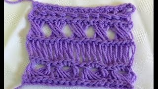 Broomstick Lace Variations 1: Traditional