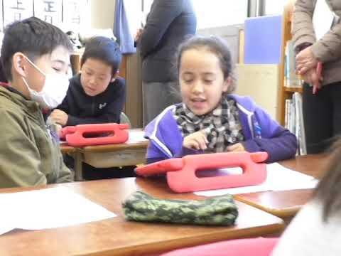 阿蘇市の小学校でプログラミング公開授業