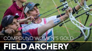 Toja Ellison v Paige Pearce – compound women's gold final |Cortina 2018