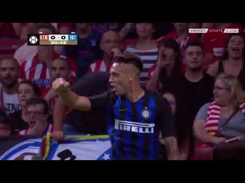 Watch Kwadwo Asamoah's wonderful assist as Inter pip Atletico
