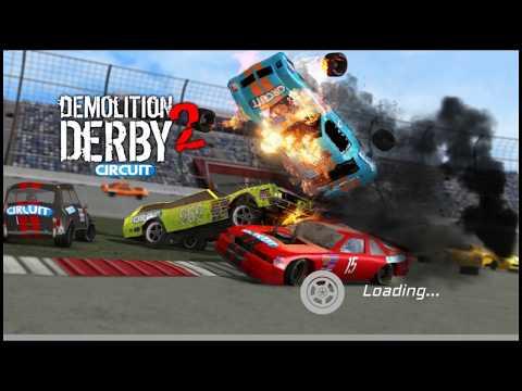 БИТВА МАШИН Игровой мультик про ГОНКИ НА ВЫЖИВАНИЕ в игре для детей Demolition Derby 2